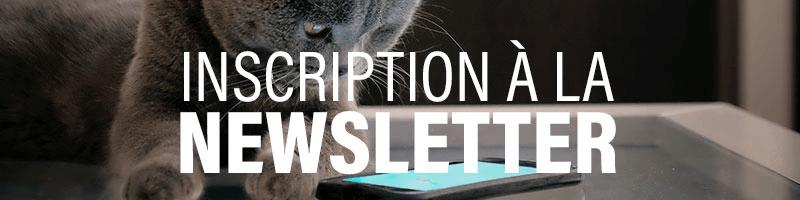 Inscription Newsletter Dogteur