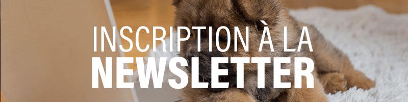 Inscription Newsletter La Compagnie des Animaux