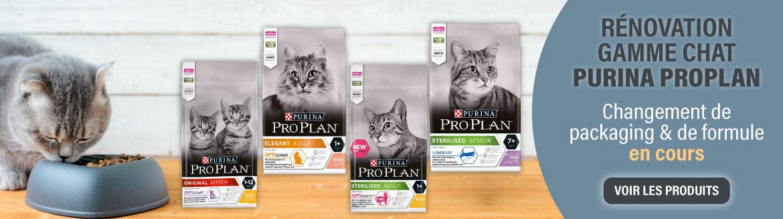 Changement de gamme Purina Prolan pour chat