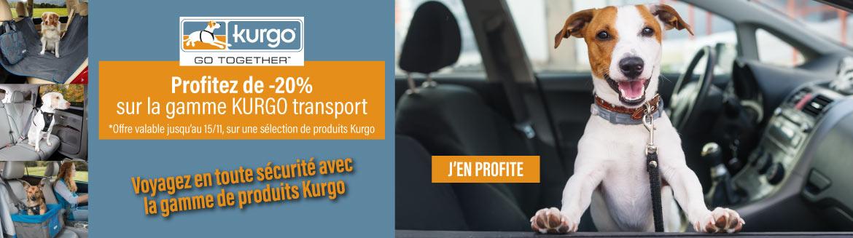 Profitez de -10% sur la gamme voiture Kurgo