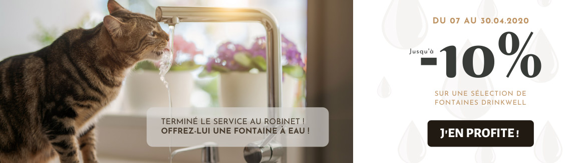 Offre fontaines à eau Drinkwell