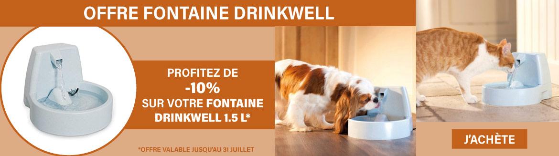 Offre fontaines à eau PetSafe