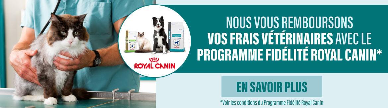 Découvrez notre programme fidélité Royal Canin