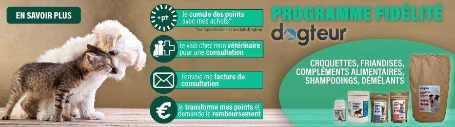 Programme de fidélité : on participe à vos frais vétérinaires