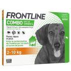 Frontline Combo Chien 2-10 kg 4 pipettes- La Compagnie des Animaux