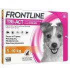 Frontline Tri Act spot on chiens 5 à 10 kg 3 pipettes- La Compagnie des Animaux