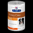 Hill's Prescription Diet Canine K/D au poulet 12 x 370 grs