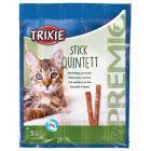 Trixie Premio Stick Quintett à la Volaille et au Foie pour Chat 5 x 5 g