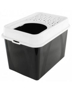 Berty Cat Toilet Top Rotho Mypet Noir