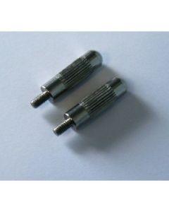 2 électrodes longues pour collier Canicalm
