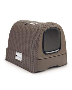 Maison de Toilette Curver Petlife Litter Box Moka