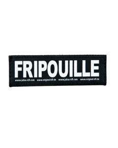 2 Stickers Velcro Julius K9 taille S FRIPOUILLE - La compagnie des animaux