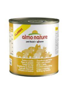 Almo Nature Chat Classic Thon et Poulet 12 x 280 grs