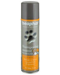 Beaphar Spray Shampooing Mousse Sans Rinçage à L'aloe Vera pour chien et chat 250 ml