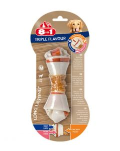 8in1 Triple Flavour Os M pour chien