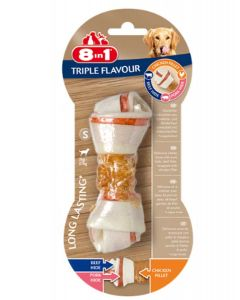 8in1 Triple Flavour Os S pour chien