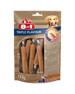 8in1 Triple Flavour Travers à mâcher 113 g