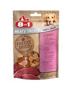 8in1 Freeze Dried Meaty Treats 100 % poitrine de canard pour chien 50 g