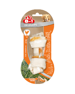 8in1 Friandises Os Delight Strong pour chien S 55 g