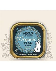 Lily's Kitchen Organic Délice de Poisson Bio pour Chat 19 x 85 g- La Compagnie des Animaux