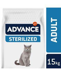 Advance Sterilized Chat à la dinde 15 kg - La Compagnie des Animaux
