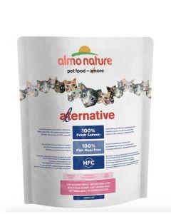 Almo Nature Alternative Chat Adulte Saumon et Riz 2 kg- La Compagnie des Animaux