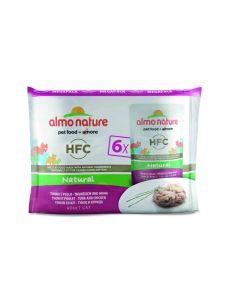 Almo Nature Chat Classic Value Pack Poulet et thon 6 x 55 grs- La Compagnie des Animaux