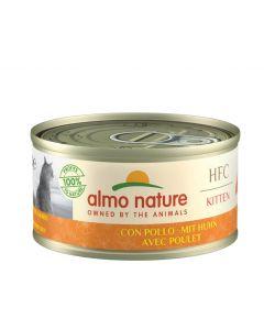Almo Nature Chat HFC KITTEN avec Poulet 24 x 70 g