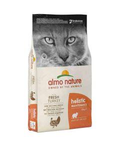 Almo Nature Chat Holistic Dinde et Riz 12 kg- La Compagnie des Animaux