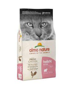 Almo Nature Chat Holistic KITTEN au Poulet frais 12 kg