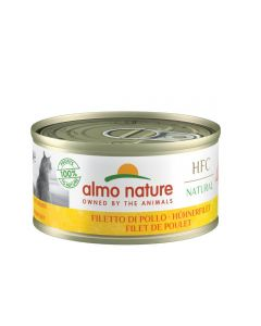 Almo Nature Chat Natural HFC Filet de Poulet 24 x 70 grs