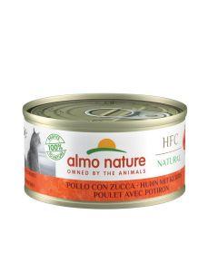 Almo Nature Chat Natural HFC Poulet avec Potiron 24 x 70 grs