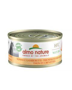 Almo Nature Chat Natural HFC Thon avec crevettes 24 x 70 grs