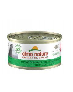 Almo Nature Chat Natural HFC Thon avec maïs 24 x 70 grs