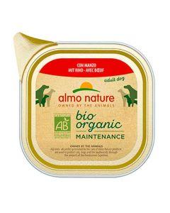 Almo Nature Chien Bio Organic Maintenance boeuf 32 x 100 grs