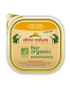 Almo Nature Chien Bio Organic Maintenance poulet 9 x 300 grs