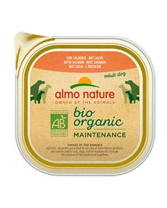 Almo Nature Chien Bio Organic Maintenance Saumon 9 x 300 grs