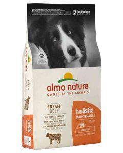 Almo Nature Holistic Chien Adult Medium Boeuf frais 12 kg