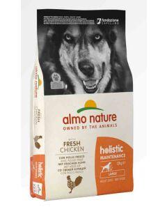 Almo Nature Holistic Chien Adult Large Poulet frais 12 kg