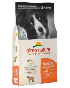 Almo Nature Holistic Chien Adult Medium Agneau frais 12 kg