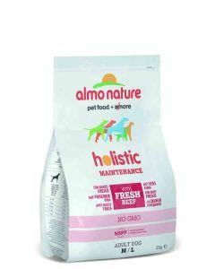 Almo Nature Chien Holistic Medium Boeuf et riz 2 kg- La Compagnie des Animaux