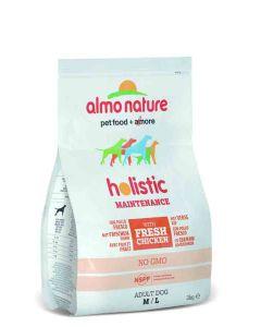 Almo Nature Chien Holistic Medium Poulet et riz 2 kg- La Compagnie des Animaux