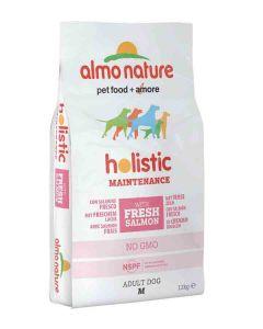 Almo Nature Chien Holistic Medium Saumon et riz 12 kg- La Compagnie des Animaux