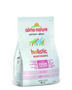 Almo Nature Chien Holistic Medium Saumon et riz 2 kg- La Compagnie des Animaux