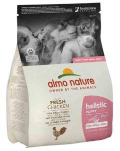Almo Nature Holistic Chien Puppy Small Poulet frais 2 kg