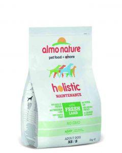 Almo Nature Chien Holistic Small Agneau et riz 2 kg- La Compagnie des Animaux