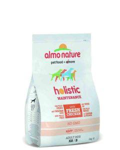 Almo Nature Chien Holistic Small Poulet et riz 2 kg- La Compagnie des Animaux
