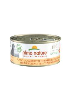 Almo Nature Chat HFC Natural Thon et Crevettes 24 x 150 g