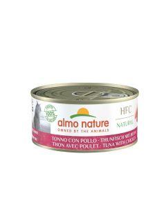 Almo Nature Chat HFC Natural Thon et Poulet 24 x 150 g