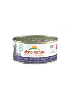 Almo Nature Chat HFC Natural Thon poulet et Jambon 24 x 150 g